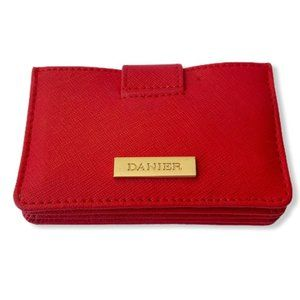 Danier Leather Small Accordion Card Holder Wallet